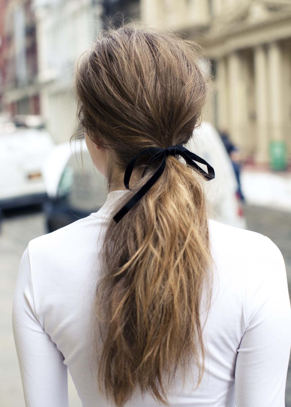fita para laço de cabelo como fazer
