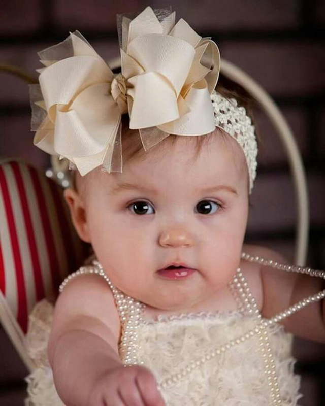 laco infantil para cabelo bebe