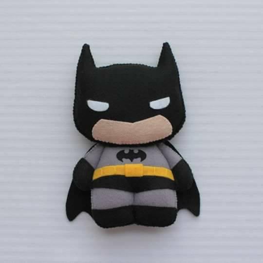 Molde Do Batman Para Imprimir Feltro E Eva