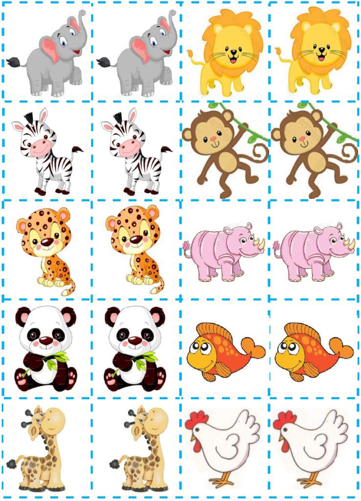 jogo da memoria infantil para imprimir