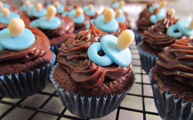 lembrancinha de maternidade cupcake