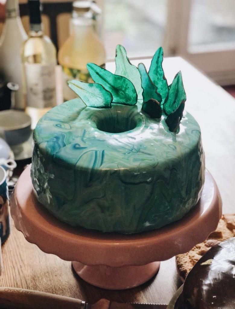 receita de bolo de vidro cobertura espelhada