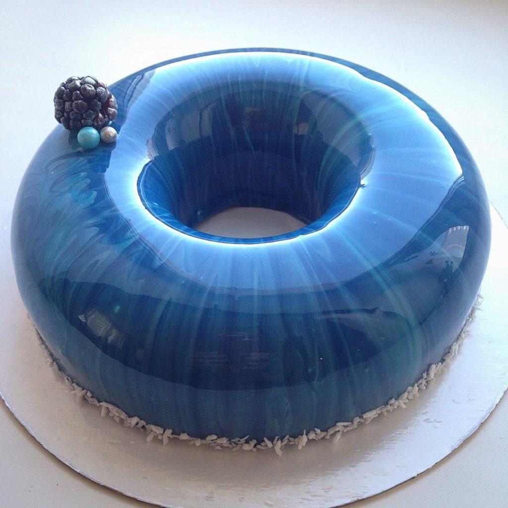 receita de glass cake