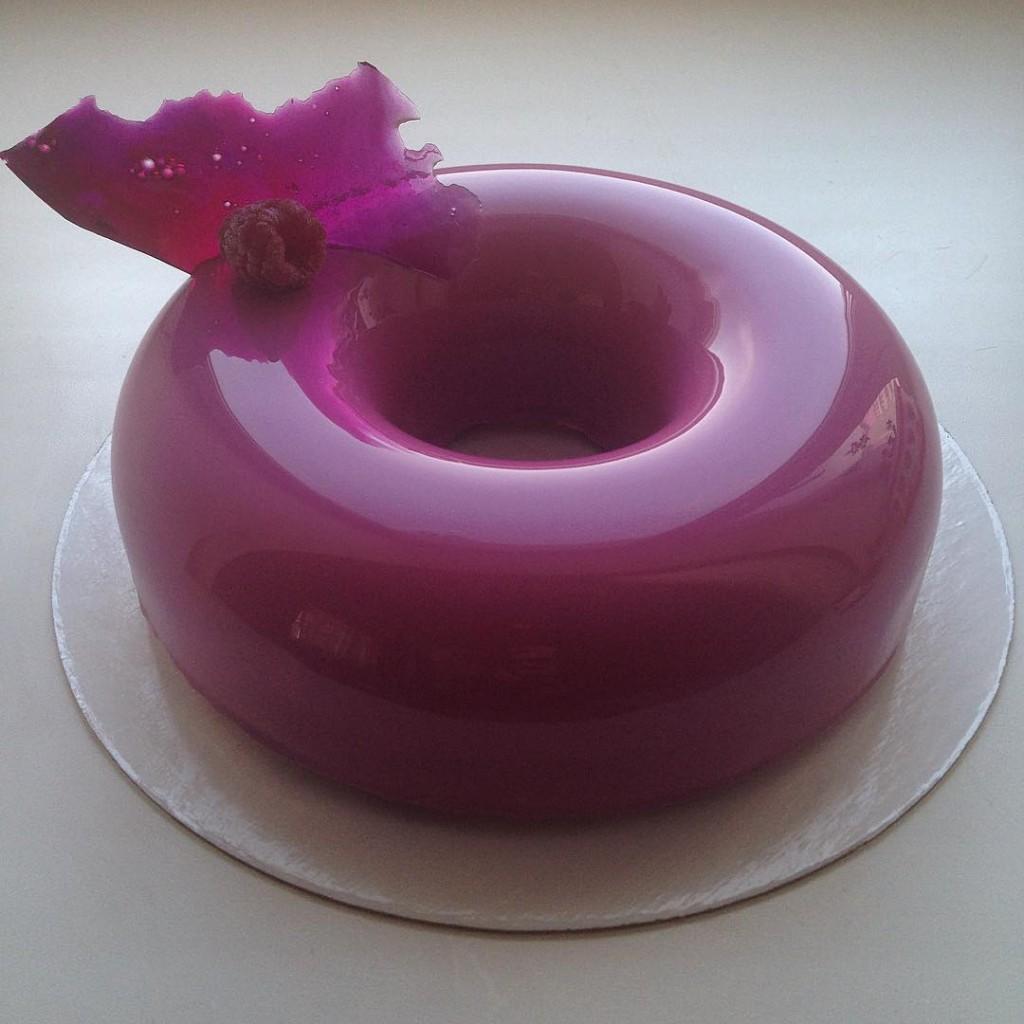 receita de mirror cake