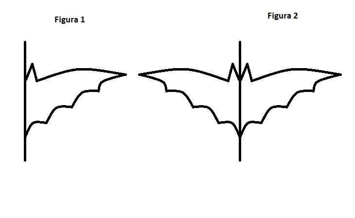 Como fazer o molde de um morcego
