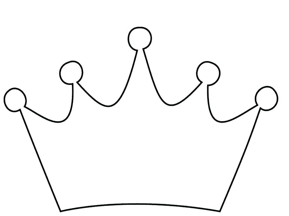 coroa de rei molde para imprimir