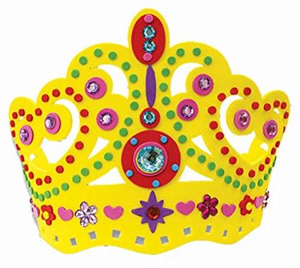 coroinha de princesa em eva