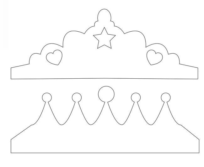 coroinha de princesa para imprimir