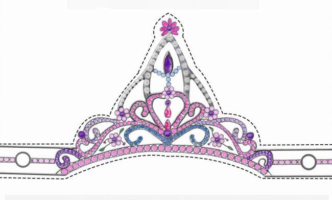 coroinha de princesa