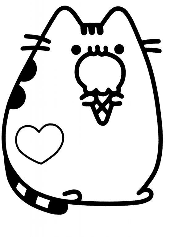 desenhos de gatinhos para imprimir