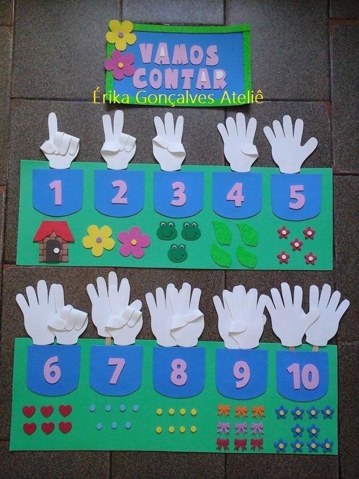 educação infantil numerais