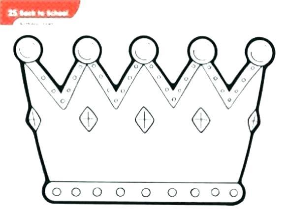molde de coroa real