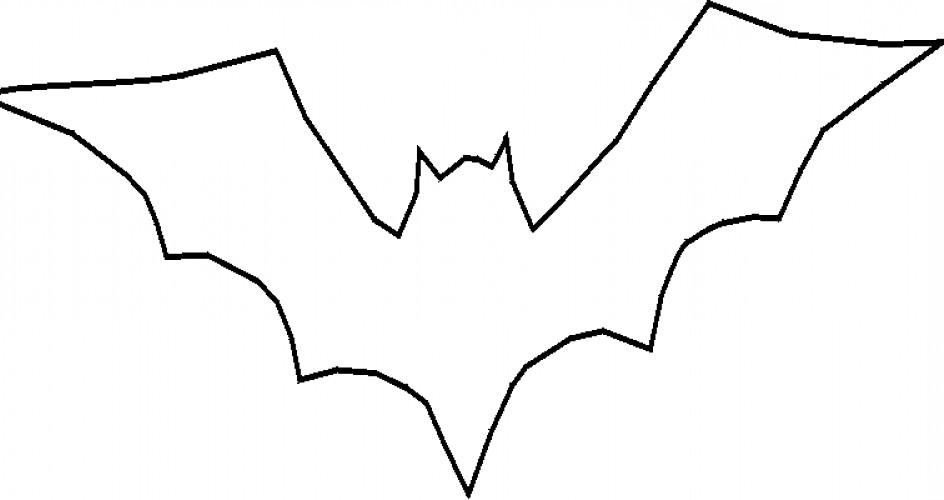 molde de morcego imprimir