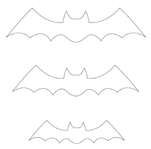 molde morcego