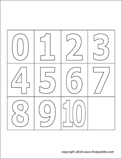números para imprimir cartoes