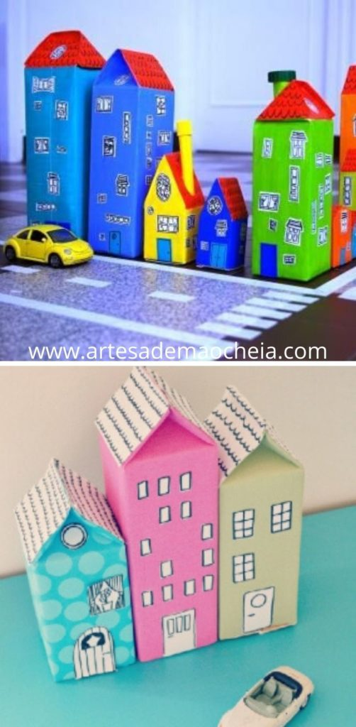Brinquedos Reciclados com Caixa de Leite (10)