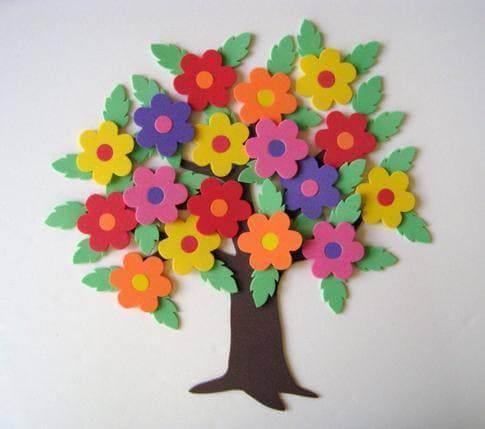 arvore flores eva