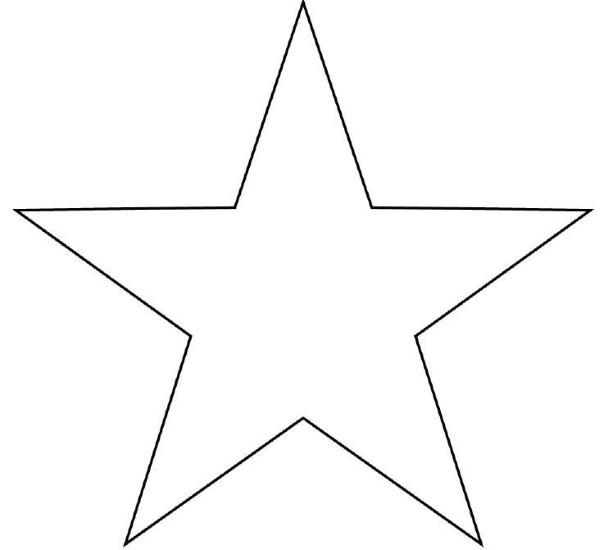 desenho simples estrela