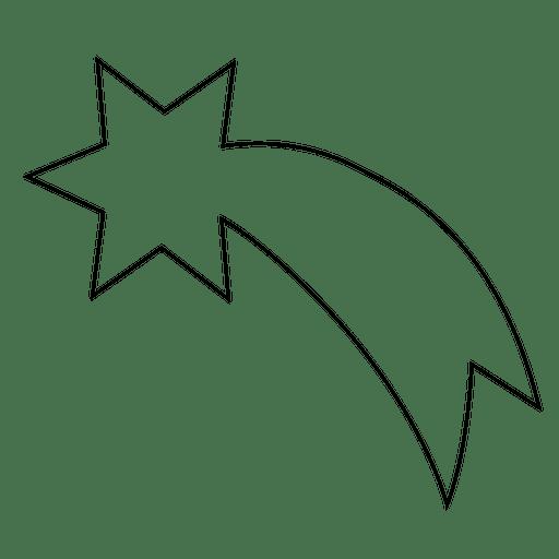 imprimir estrela cadente