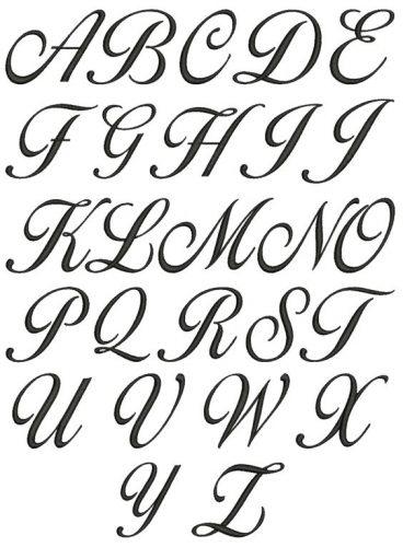 letra de mão para imprimir