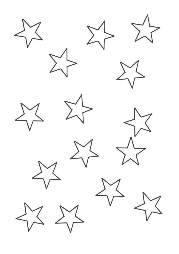 mini estrelas simples