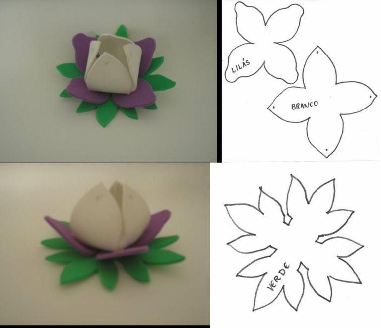 molde de flores para bombom