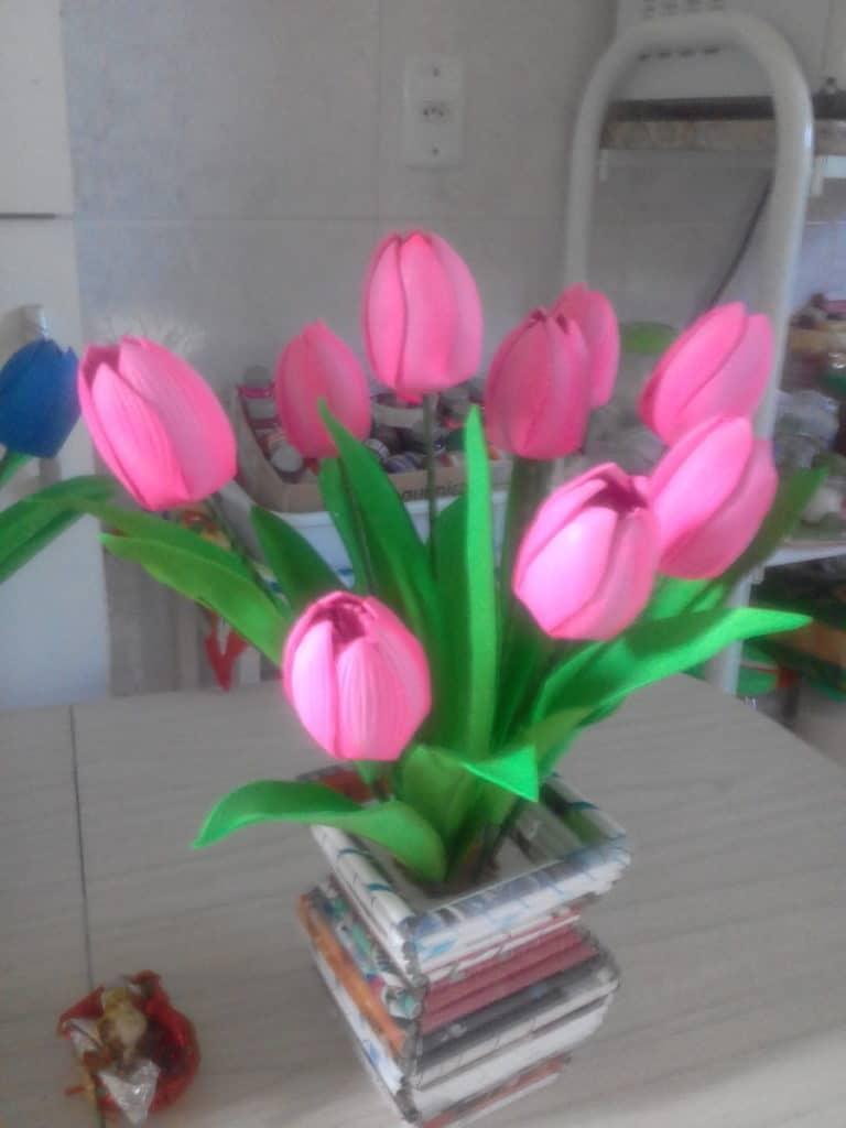 tulipa em eva