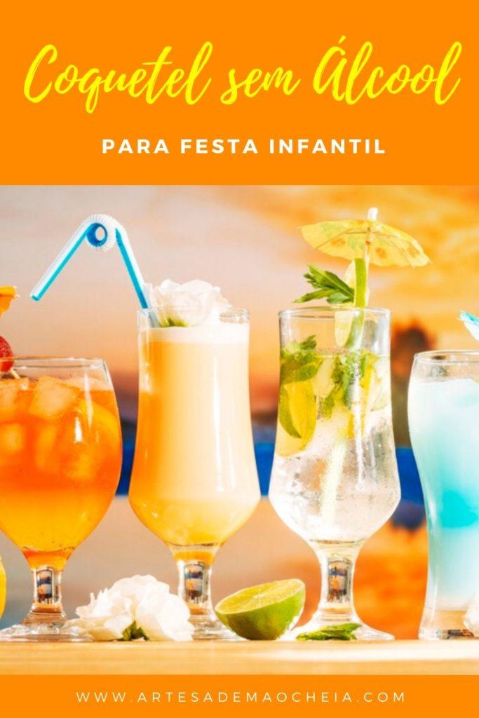 Receita de Coquetel para Festa Infantil: 9 Receitas Incríveis sem Álcool!