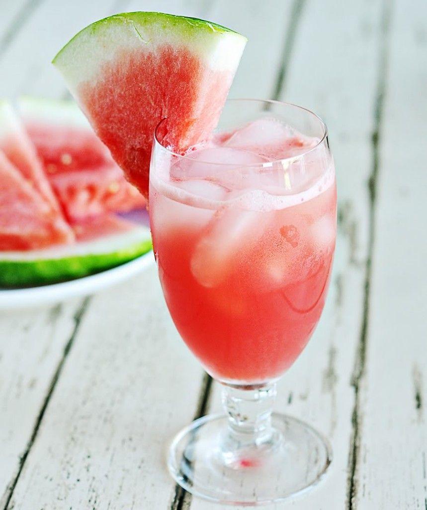 coquetel de melancia sem alcool festa