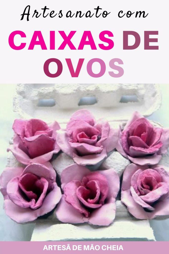 Rosas com Caixa de Ovos