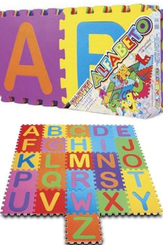 Tapete EVA Alfanumérico Educação Infantil