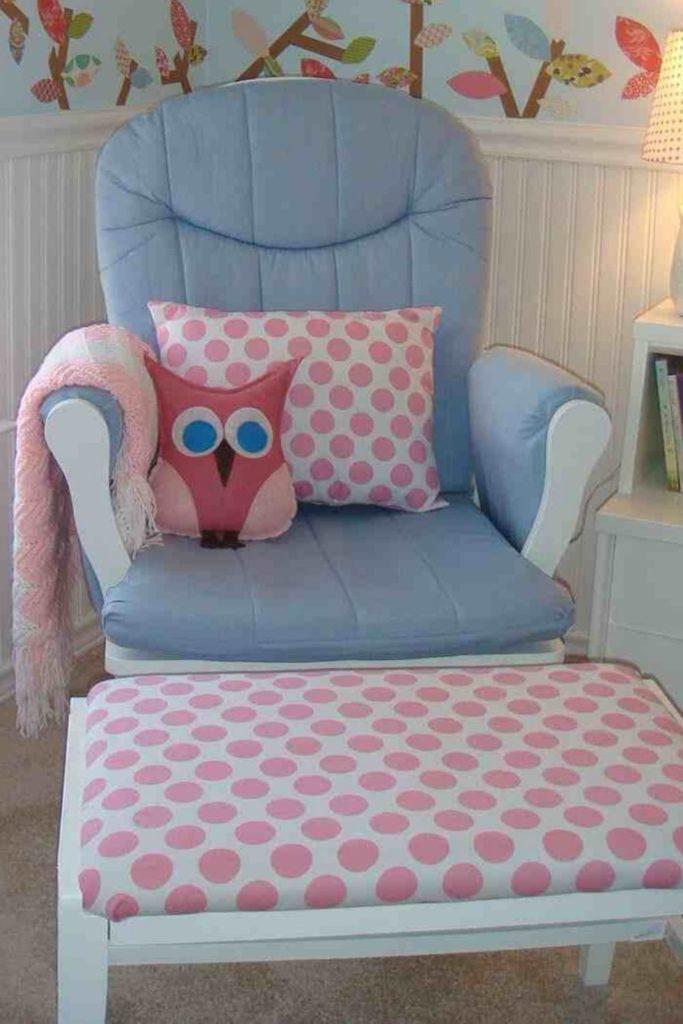 almofada de coruja de tecido