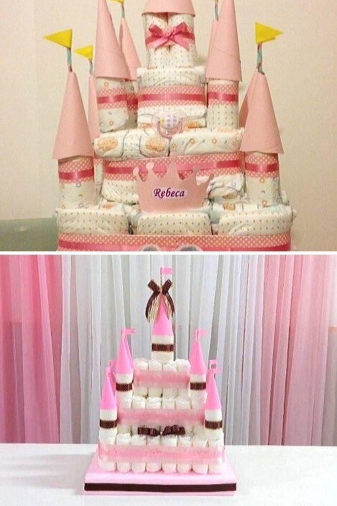 ideias de bolo de fraldas