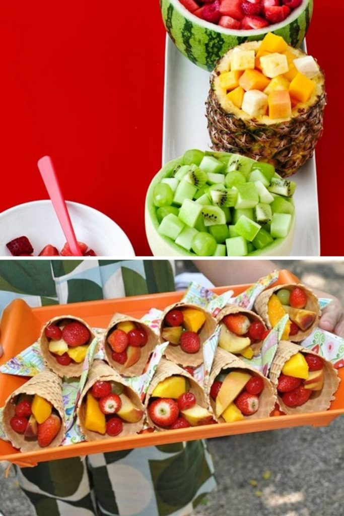 Quitutes saudáveis com frutas