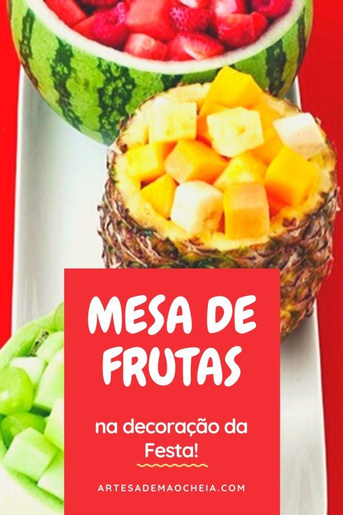 ideias de decoracao com mesa de frutas para festas