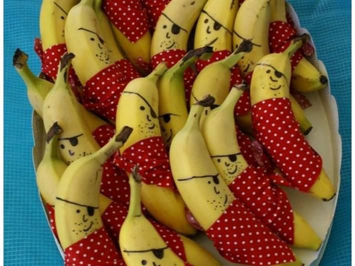 Decoração com frutas para festas de crianças