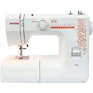 melhor maquina de costura para iniciantes janome 1006