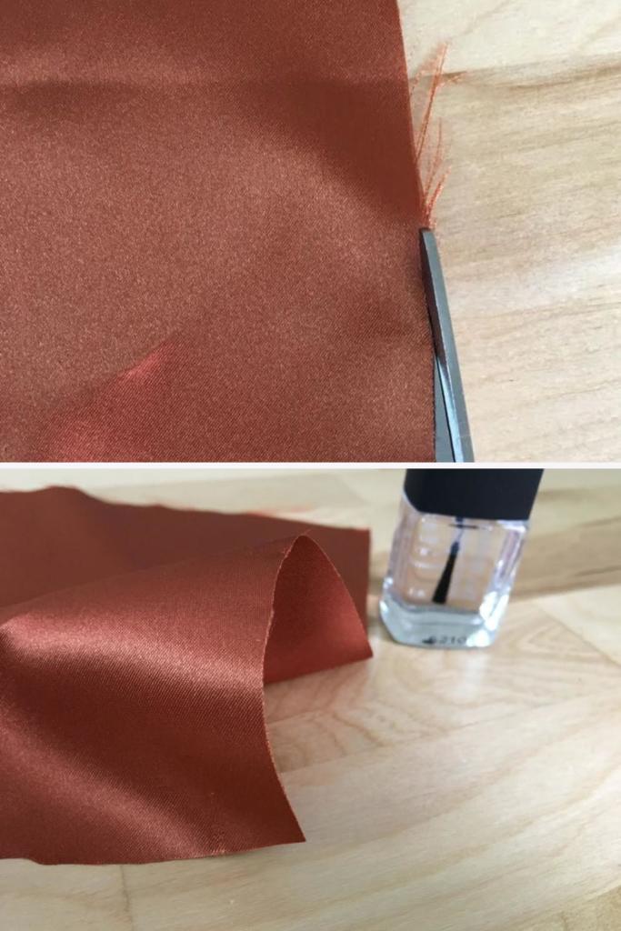 acabamento do tecido para bordado