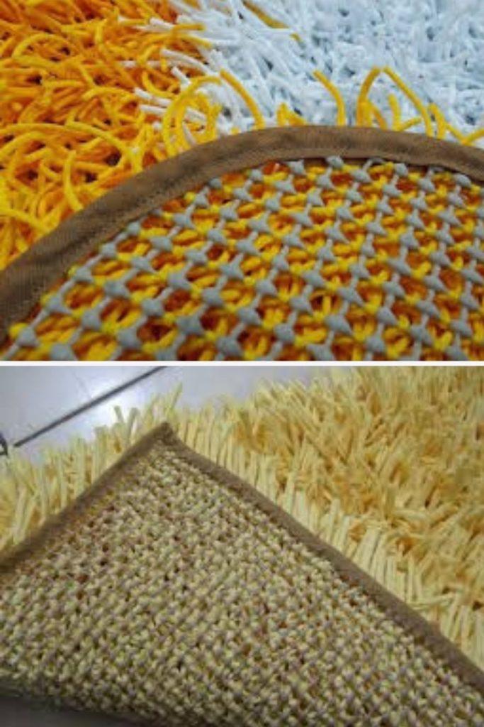 tapete amarradinho como fazer